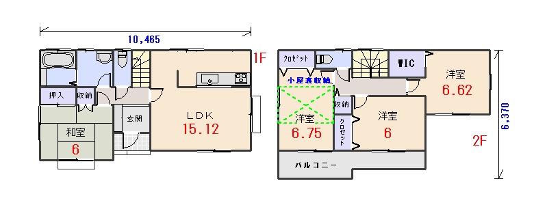 南玄関29.93坪aの間取りプランです