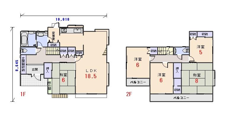 南西玄関37.75坪aの間取りプランのページへ